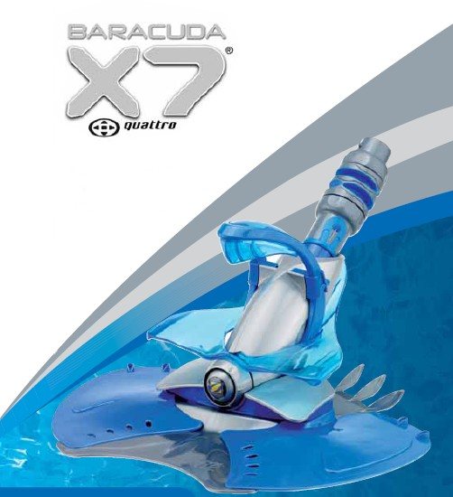 Baracuda X7 Quattro™ Automatic Pool Cleaner